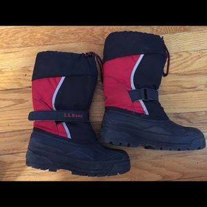 LL Bean Kids Northwoods winter boots